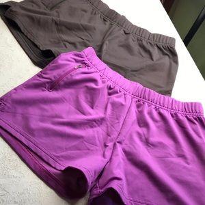 TWO Super comfortable Athleta shorts!